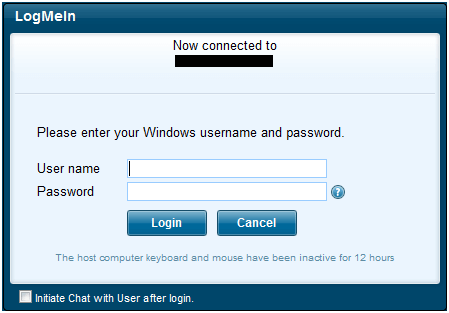 How to use logmein com to login remotely | Run Networks